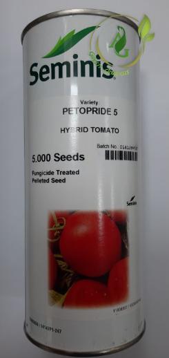 بذر گوجه فرنگی هیبرید پتوپراید5 سمینس