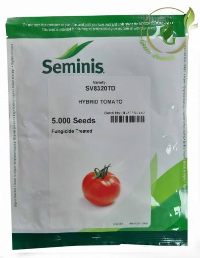 بذر گوجه فرنگی هیبرید 8320 سمینیس پاکتی